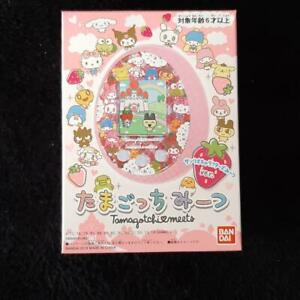 Tamagotchi Meets ver. Sanrio Cute Virtual Pet Import From Japan