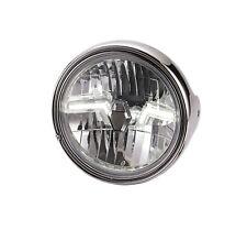 Klarglas LED Scheinwerfer chrom Moto Guzzi California Mille GT chromed headlight