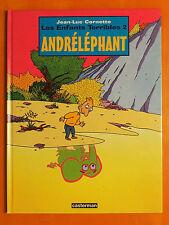 Andréléphant. Tome 2. Les Enfants Terribles. Jean-Luc Cornette -Casterman EO