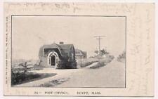 PC Egypt Massachusetts Post Office~Near Scituate~w UDB Undivided back circa 1905