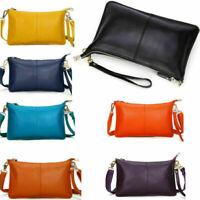 Women Messenger Hobo Bag Genuine Leather Handbag Shoulder Tote Purse Crossbody