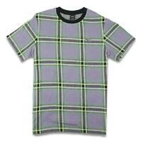 HUF Mens Borland Knit T-Shirt Grape Purple M New