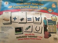 POCKET CHART Double Smart ADDITION & SUBTRACTION CARDS Skill Builder CARSON DELL