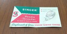 Vintage SINGER SEWING NEEDLE THREADER Complimentary Piece NEW OLD STUFF