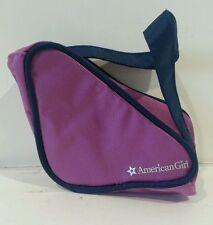 American Girl Mia Meet Accessories - Purple SKATE BAG Purse Tote Molly Nellie