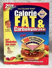 Calorie King Calorie, Fat and Carbohydrate Counter (2007, Paperback)