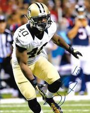 Delvin Breaux New Orleans Saints Football NFL signed 8x10 photo proof COA
