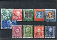 BRD -Jahrgang 1949 o ( 111-120 ) - KW 400,-- €  ( 13890 )