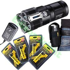 Nitecore TM26 4000 lumen Flashlight/Searchlight Tiny Monster with 4 X 18650 batt
