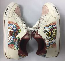 Ed Hardy Men's Athletic Sneakers Shoes Size 9 Preowned