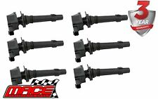 6 X MACE IGNITION COIL FORD FALCON FG FG X BARRA 195 ECOLPI 270T TURBO 4.0L I6
