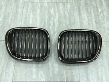 Front Kidney Hood Grilles Black Chrome For '1996-'2002 BMW Z3 COUPE CONVERTIBLE
