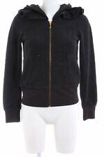 JUICY COUTURE Sweatjacke schwarz Casual-Look Damen Gr. DE 36 Sweat Sweat Jacket