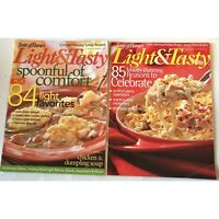 Lot 2 Light & Tasty Magazine October November 2006 December January 2007 Taste