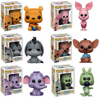 Winnie the Pooh 6 Figuren Set Puuh Disney POP! #252 - #257 Vinyl Figur Funko
