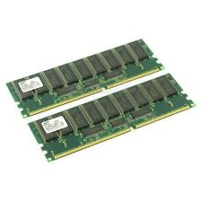 Samsung DDR-RAM 2GB-Kit 2x1GB/PC-1600R/ECC/CL2 M383L2828DT1-CA0