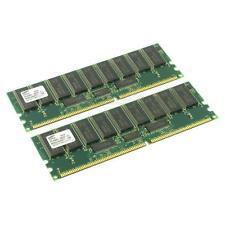 Samsung DDR-RAM 2GB-Kit 2x1GB/PC-1600R/ECC/CL2 M383L2828DT1-CA0