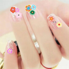 1000PCS Cute Flower 3D Nail Art Fimo Polymer Slices Decor Decals Nail Tips Patch