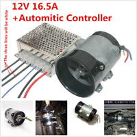 12V 16.5A Automatic Car SUV Electric Turbine Power Turbo Charger Kit Controller