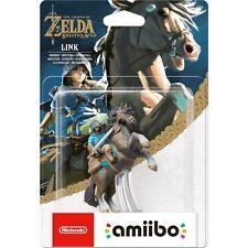 The Legend Of Zelda Breath Of The Wild Rider Link amiibo Nintendo Switch Wii U,
