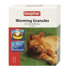 Beaphar Cat Kitten Worming Granules Wormer Roundworm Treatment 4 Sachets