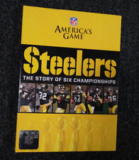 NFL AMERICAS GAME - PITTSBURGH STEELERS: THE STORY OF SIX CHAMPIONSHIPS NEW DVD