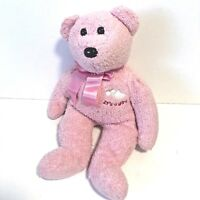 Ty Beanie Buddies Buddy Pink Plush Bear It's A Girl