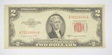 Crisp 1953-B Red Seal $2.00 United States Note - Better Grade *877