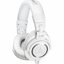 AUDIO-TECHNICA ATH-M50X ATH M 50 X WHITE HEADPHONES CLOSED NEW OFFICIAL WARRANTY