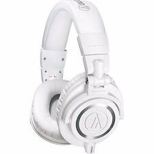 AUDIO-TECHNICA ATH-M50X ATH M 50 X WHITE CUFFIE CHIUSE NUOVE GARANZIA UFFICIALE