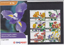 Netherlands Stamp pack 2003 flowers