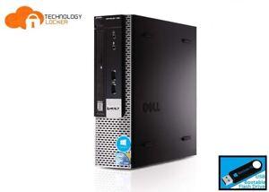 Dell Optiplex 780 USFF Desktop PC Intel E8400 @3.0GHz 4GB RAM 250GB Win 10