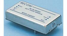1 x Recom ISOLATO CONVERTITORE CC-CC, Vin 36-75V DC, CAT 3.3V DC, I/O 1600V DC