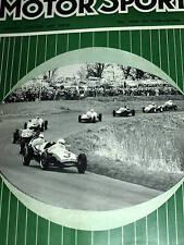 PAU BRUXELLES GRAND PRIX 1960 STIRLING MOSS PORSCHE 718 JACK BRABHAM COOPER