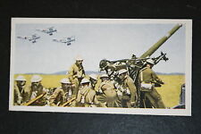 British Army  Anti-Aircraft Gun Crew   1930's Vintage Picture Card # VGC