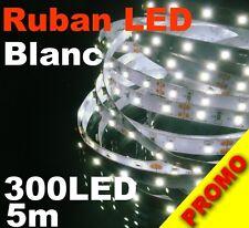 P801M# Ruban LED Blanc pur  5 mètres 300LED 2835 - strip LED white 60LED/m