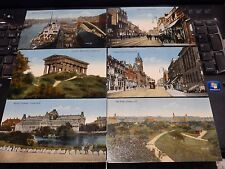 SUNDERLAND  SIX  (6)  EDWARDIAN  POSTCARDS nR MINT  AS A LOT   BARGAIN