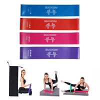 Resistance Bands Mini Loops Set Exercise Fitness Yoga Glute Arm Legs for Women