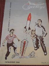 CATALOGUE JOUET CINE TOYS SUISSE - PLANEURS , AVIONS , BATEAUX , ANNEE 1960 (19)