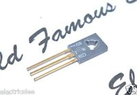 1PCS - MOTOROLA 2N4923 Gold-Pin TRANSISTOR - Genuine NOS 3A 80V 30W