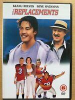 The Replacements DVD 2000 American Football Drama Keanu Reeves + Gene Hackman