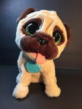 FurReal Friends JJ My Jumpin' Pug Toy Plush Electronic Dog Hasbro 2014 SEE VIDEO