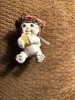 Dreamsicles Cast Art Cherub Collectible Holding A Star. Vintage Signed 1995