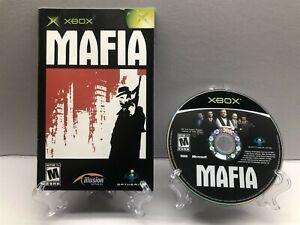 Mafia (Microsoft Xbox, 2004) Disc + Manual - Clean & Tested Working