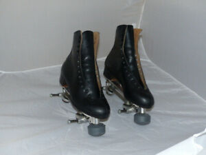Riedell Quad Skates atlas model 220 mens size 9, Snyder Plates and Wheels