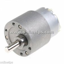 45 RPM Motor Metal Body Side Shaft for Robotics Free 1 Pc Motor Clamp Fitting