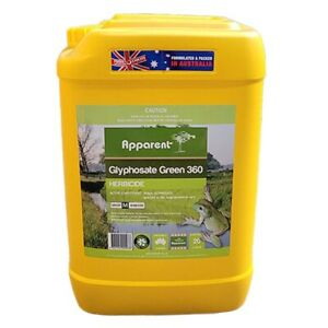 Glyphosate 360 Herbicide Concentrate Bulk Weed Grass Killer 20L