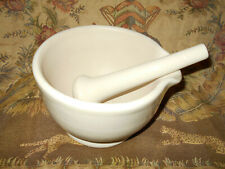 Royal Doulton Mortar & Pestle Apothecary Pharmacy Porcelain ~Made in England