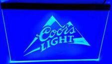 coors light blue Bar Beer pub club 3d signs Led Neon Sign