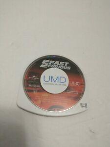 2 Fast 2 Furious UMD PSP Movie 2005 Paul Walker Ludacris Vin Diesel